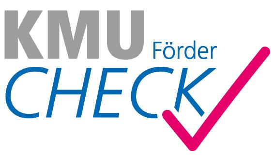 Logo des KMU-Förderchecks
